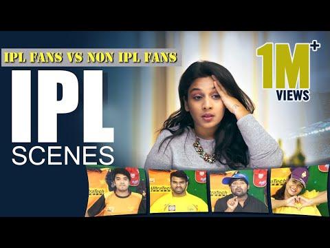 IPL Scenes - IPL Fans vs Non IPL Fans    Mahathalli thumbnail