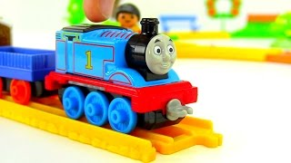 THOMAS and collectible railway! Unpacking! ПАРОВОЗИК ТОМАС! 어린이 만화