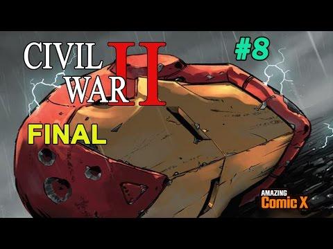 CIVIL WAR II #8 - FINAL | Comic en Español | Narrado