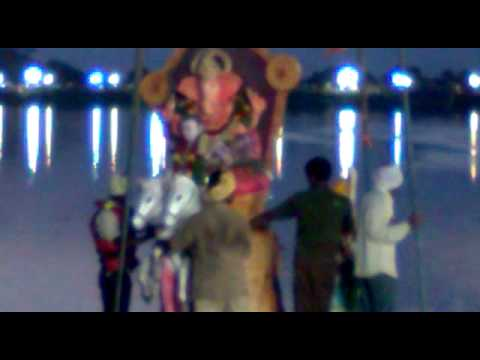 Jai Santoshi Maa Friends Association GANESH Nimmajjanam video...