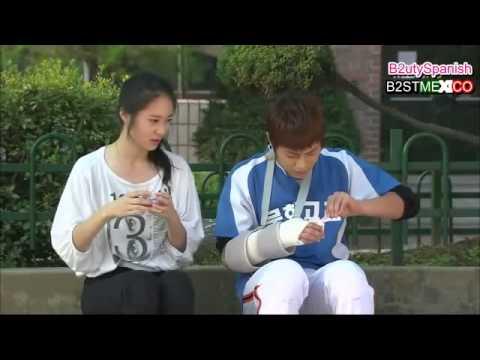 [B2ST] DooJoon y Kristal [fx] - cute Sub Español