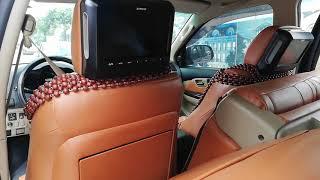 Hotline 0986921273 lắp màn gối tựa đầu sau xe oto, lắp màn dvd sau xe oto, màn hình gối tựa xe oto
