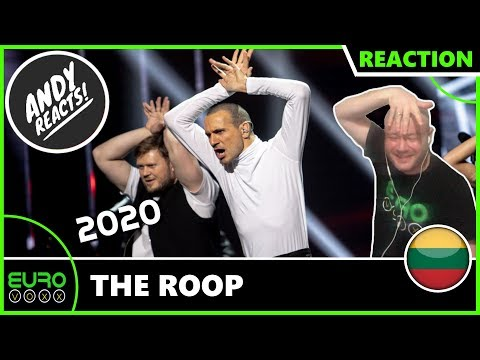 LITHUANIA EUROVISION 2020 REACTION: The Roop - On Fire | ANDY REACTS!
