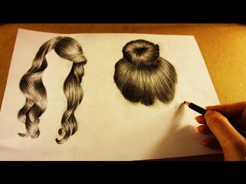 SAÇ NASIL ÇİZİLİR? - how to draw hair? - Tutorial drawing
