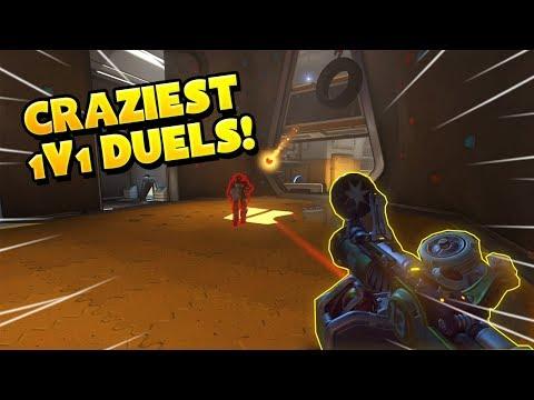 Overwatch - Craziest 1v1 DUELS!