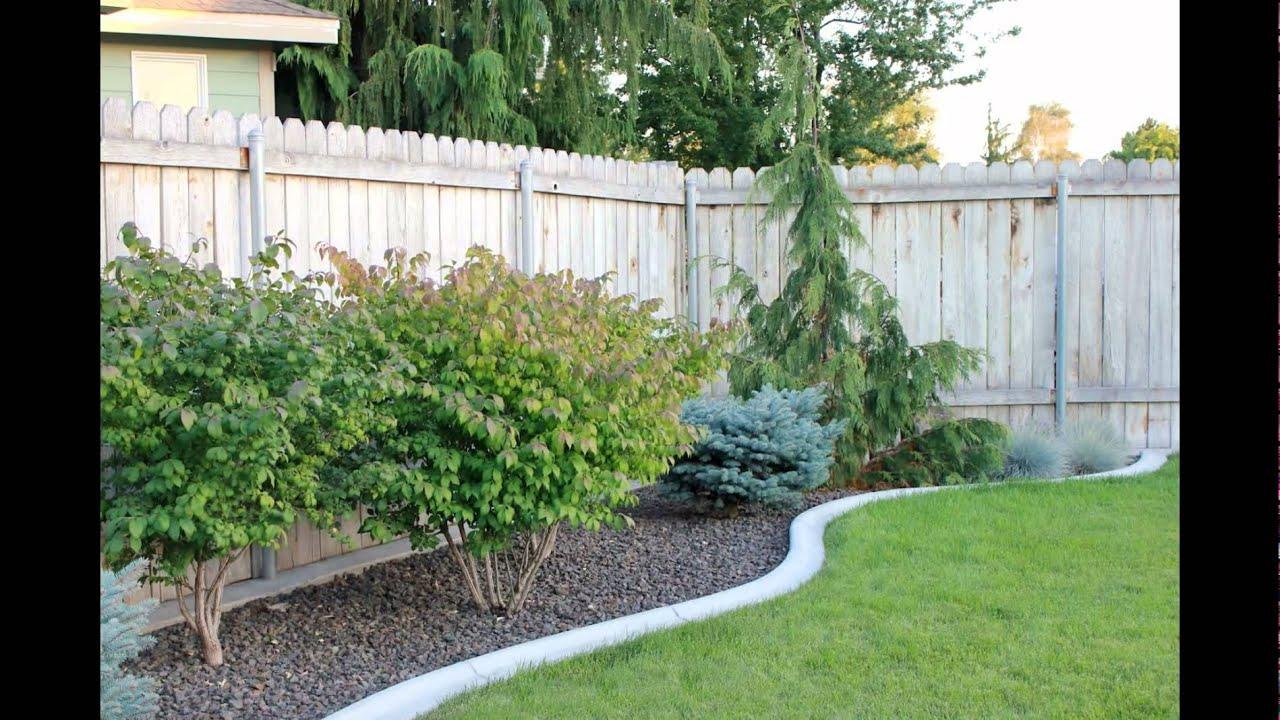 Simple patio design for modern landscape ideas