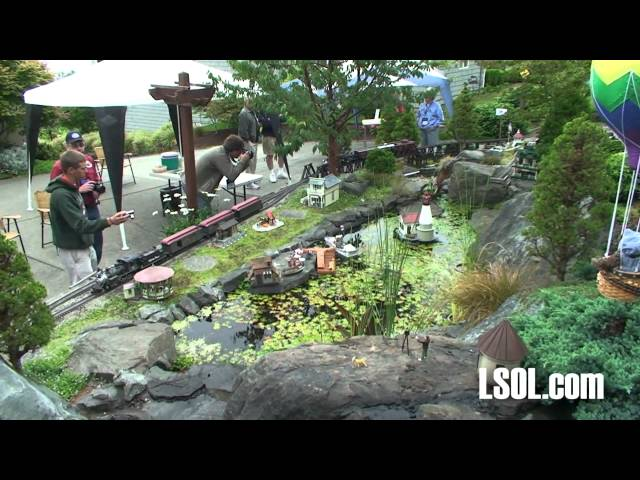 Garden Trains: National Garden Railway Convention - 3 Railroad Tours