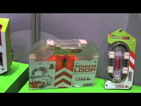HexBug Nano V2 - Hex Bugs Now Go In Tubes and Upside Down.  2013 First Look At Toy Fair 2013