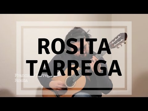 Francisco Tárrega - Rosita (Polka) - Emerson Salazar, Guitar