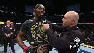 UFC 235: Jon Jones and Anthony Smith Octagon Interview