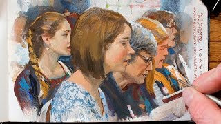 Painting a Group Portrait from Life