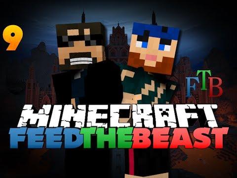 Minecraft Modded Survival - FTB 9 - WE TAKE HOSTAGES