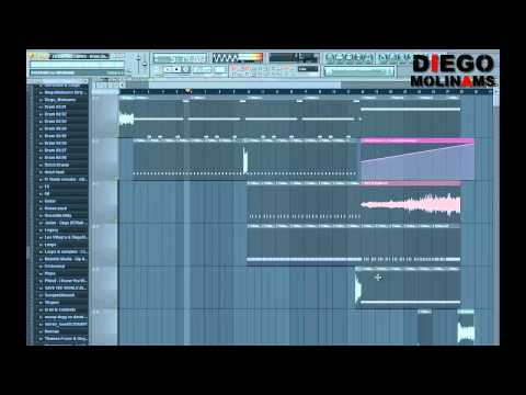 FL Studio Remake: LMFAO Feat. Lil Jon - Drink (Sidney Samson Remix) [Second Drop]
