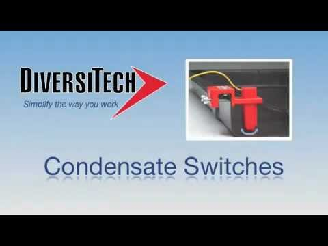 Diversitech Condensate Switches Condensate Cop Wet