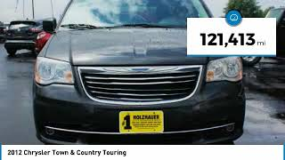 2012 Chrysler Town & Country Holzhauer Auto and Motorsports Group 300009