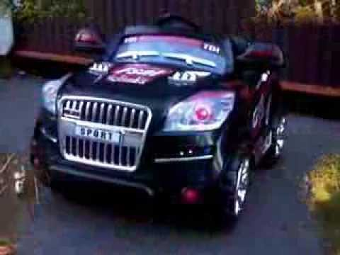Audi Q7 Elbil Youtube