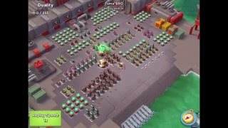 Boom Beach — Curtain Call/тревожный звоночек, 9 attacks, XOLI WAR