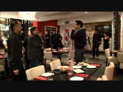 Dino Morea At Chak89 having food.wmv