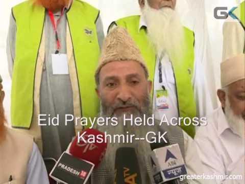 Eid Prayers Held Across Kashmir