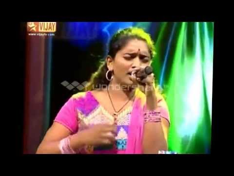 soniya airtel super singer best performance with janaki Amma...