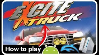 EXCITE TRUCK HD (Wii) Dolphin Emulator (Settings + Keymapping + Gameplay ANDROID TV NVIDIA SHIELD