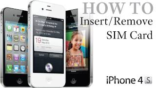 iPhone 4S How To_ Insert / Remove a SIM Card