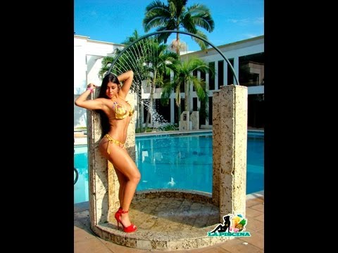 LA PISCINA TV  - 17 - PROGRAMA DE TV COLOMBIA - CALI  ( POOL PARTY )