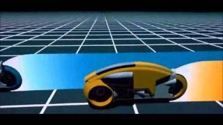 Tron (1982) Lightcycle scene with new Daft Punk Soundtrack