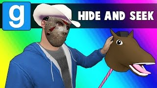 Hide and Seek  Cowboy Edition Garrys Mod Funny Moments