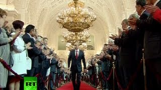 Full Video_ Vladimir Putin's presidential inauguration ceremony in Kremlin
