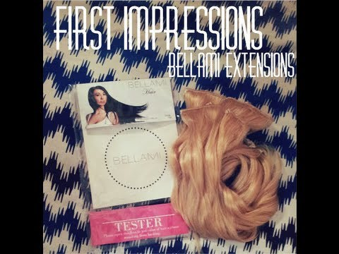 ♥First Impressions: Bellami Hair Extensions ♥