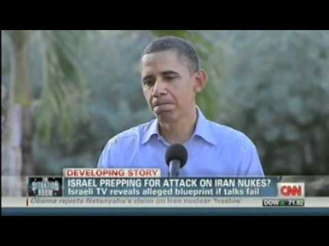 OTM - CNN.. Israeli TV Reveals Blueprint for IRAN ATTACK ... RON PAUL 2012