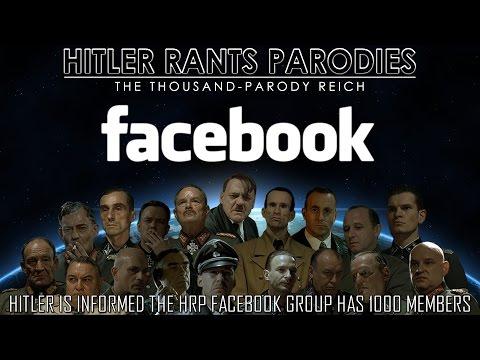 Hitler is informed the HRP Facebook Group has 1000 members