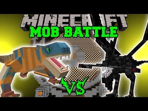 TIGREX VS MUTANT IRON GOLEM NIGHTMARE Minecraft Mob Battles Mods