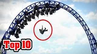 10 CRAZIEST Amusement Park Accidents