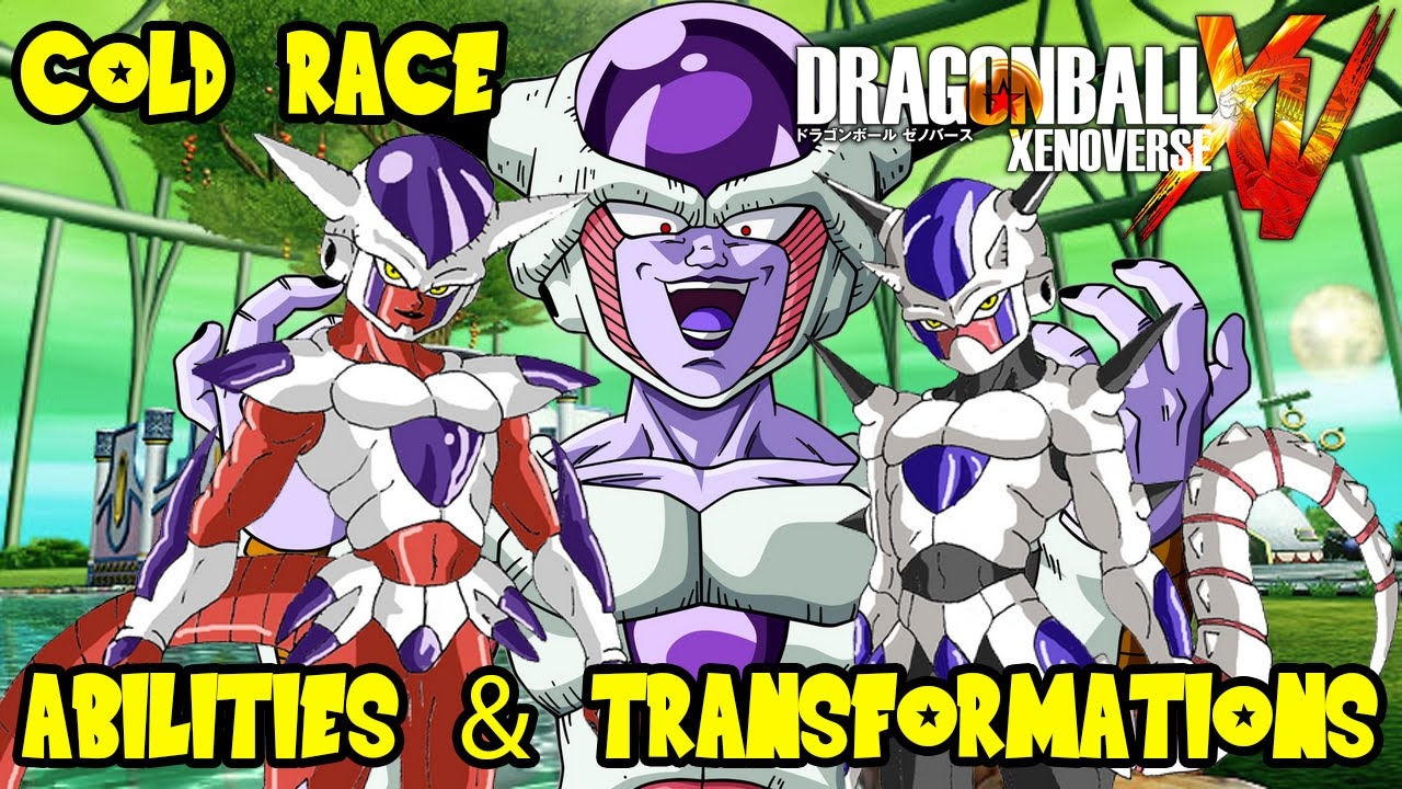 Dragon Ball Xenoverse Frieza Race Dragon Ball Xenoverse Theory