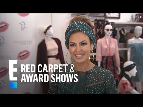 Eva Mendes Talks