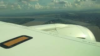 Landing in Phnom Penh International Airport, Cambodia