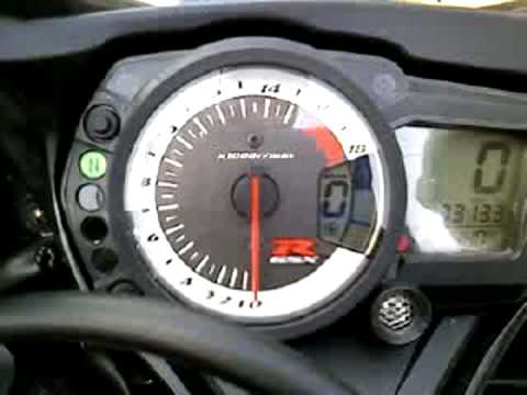 How to set the mode switch on a GSXR