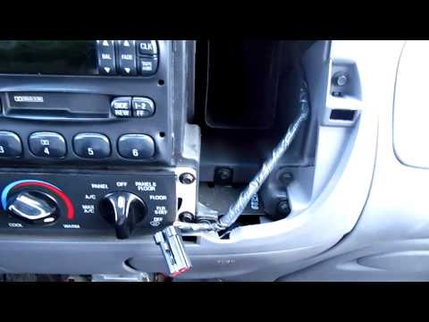How to remove factory radio from 1999 F150