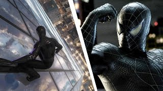 Spider-Man PS4 Recreating Spider-Man 3 Black Suit scene