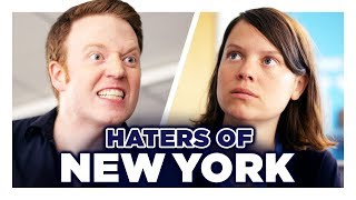 Don't Trash Talk New York | Hardly Working  from CollegeHumor