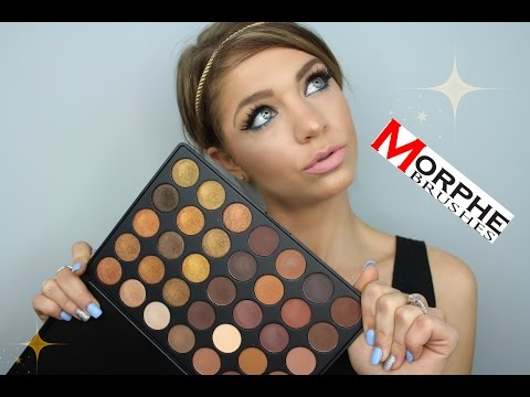 NEW MORPHE 35R PALETTE REVIEW & SWATCHES