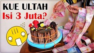 DIY: Kue Ultah Penuh Uang Zaman Now  Bikin Sendiri Yuk?!!
