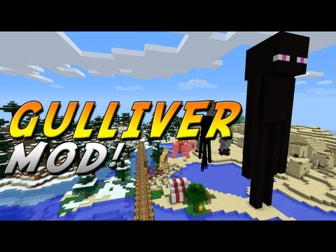 Minecraft 1.6.4 - Review de Gulliver MOD - ESPAÑOL TUTORIAL