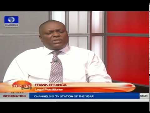 Sunrise Daily: Analysis Of Nigeria's Judiciary 54 Years After Independence Pt.1