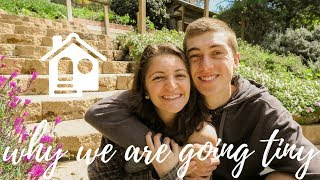 WHY WE ARE BUILDING A TINY HOUSE | WE ARE GOING TINY | HOW TO BUILD A TINY HOUSE ON WHEELS