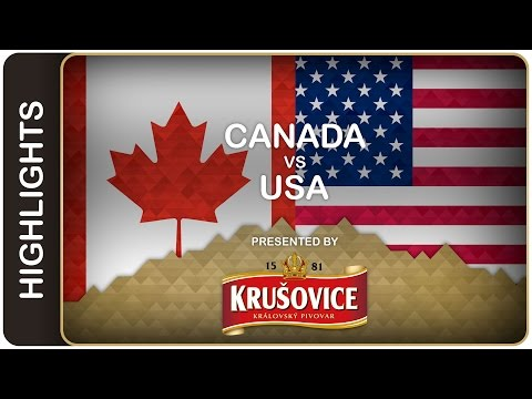 Canada going for gold | Canada-USA HL | #IIHFWorlds 2016