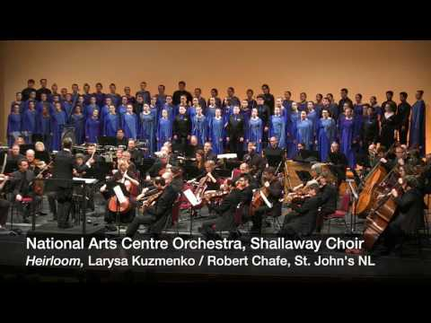 NAC Orchestra performs Heirloom with Shallaway Choir in St. John's