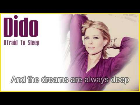 Dido - Afraid To Sleep